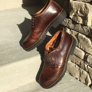 Johnston & Murphy Brown Leather Casual Shoes